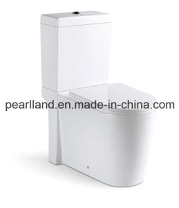 Watermark Washdown Close Coupled Two Pieces Toilet (CE-AZ2056) pictures & photos