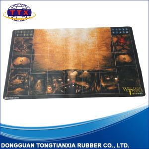 Anti Slip Nature Rubber Game Mat for Card Games pictures & photos