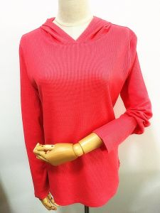 Women Fashion Clothes Cotton Thermal Long Sleeve Pullover Hoody pictures & photos