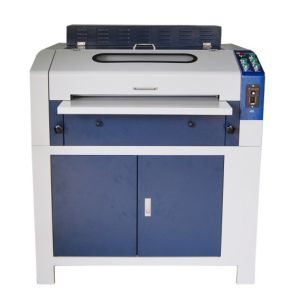 UV Coating Laminating Machine 24 Inch with Cabinet (WD-LMB24) pictures & photos