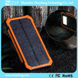 10400mAh Dual USB Port Solar Power Bank with Emergency Torch (ZYF8075) pictures & photos
