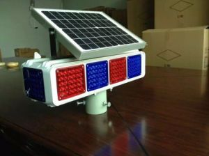 Road Safety LED Road Blinker Solar Flashing Warning Light pictures & photos