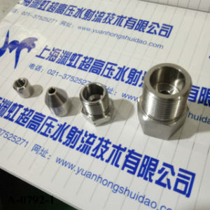 Ecl Water Jet Cutting Machine Head Spare Parts 60 Ksi Adapter pictures & photos