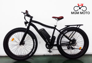 Mountain Bike Big Power Fat Tire Beach Cruiser Electric Bicycle pictures & photos