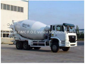 Sinotruk Haohan 6*4 Special Vehicle Mixer Truck pictures & photos
