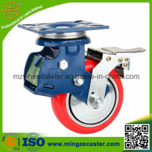 4 Inch Medium Heavy Duty Shock Absorption Caster pictures & photos