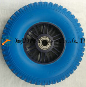 Solid PU Foamed Wheel for Tool Carts Wheel (3.50-5) pictures & photos
