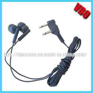Dual Pin in-Ear Earbuds Airline Earphone Headset pictures & photos