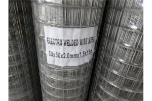 China ISO Factory Low-Carbon Steel Wire Welded Wire Mesh pictures & photos