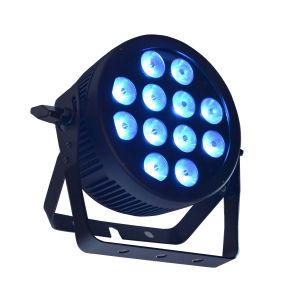 RGBW Quad LED Slim PAR Light with Powercon, DMX and Die Cast Aluminum Housing pictures & photos