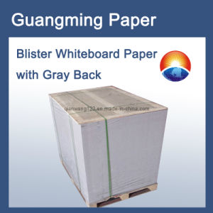 Blister Whiteboard Paper with Gray Back
