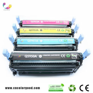 Original Color Toner Cartridge Q5950A-5953A for HP Laserjet Printer pictures & photos