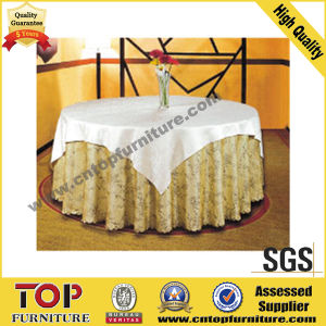 Luxury Polyester Banquet Table Cloth pictures & photos