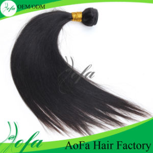 Hot Selling Virgin Black Women Natural Long Human Hair pictures & photos