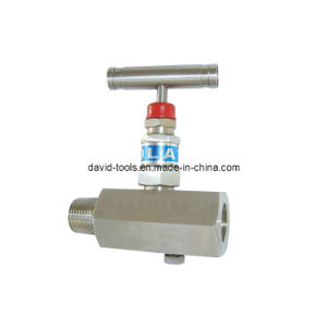Female and Male Connections Stainless Steel Needle Valve
