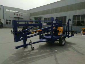 Lowest Price Self Propelled Mobile Hydraulic Articulated Boom Man Lifts for Sale pictures & photos