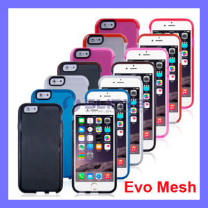 New Promotion Phone Case TPU Silicon Tech 21 Color Soft Cover Evo Mesh for iPhone 6 4.7 pictures & photos