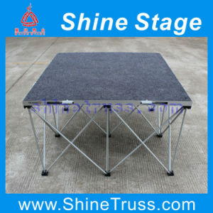 Indoor Stage Exhibition Stage, Aluminum Stage Pop up Stage pictures & photos