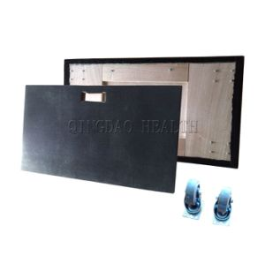 """22""""X50"""" Plywood Moving Cart with Black Carpet Deck pictures & photos"""