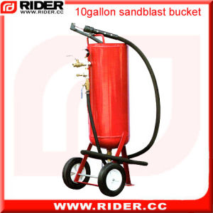 10 Gallon 40L Portable Sand Blasting Machine pictures & photos