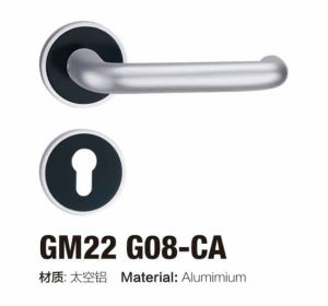 Beautiful Design Aluminum Rosette Door Handle (GM11 G08) pictures & photos