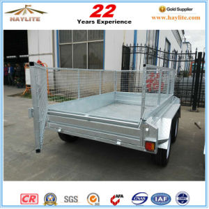 Australia Standard 8X5 Tandem Cage Trailer pictures & photos