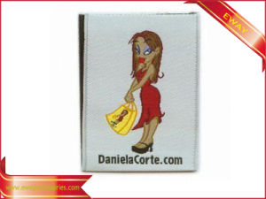 Women Clothing Label Soft Woven Main Label for Garment pictures & photos