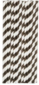 """25 PCS 7.75"""" Paper Straws with Red Stripes pictures & photos"""