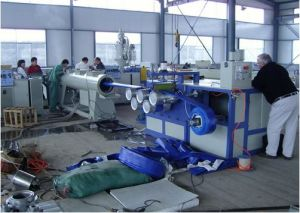 PVC High Strength Lay Flat Hose Extrusion/Production Line pictures & photos