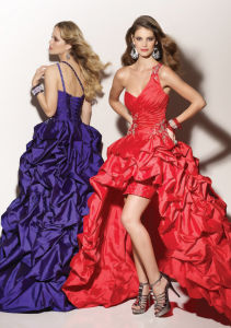 Evening Dress Hi-Low Prom Party Cocktail Dresses Custom Dresses E52711 pictures & photos