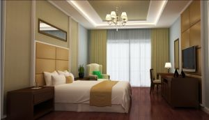 Hotel Furniture/Modern Hotel Single Bedroom Furniture/Standard Hotel Single Bedroom Suite (GLN-035) pictures & photos