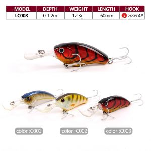 Top Grade Hard Fishing Crankbait Lure pictures & photos