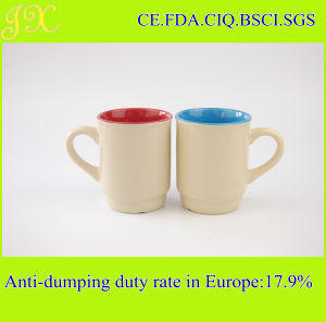 220ml Food Safety Ceramic Coffee Cup for Promotion
