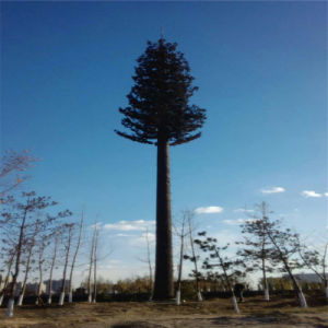 GSM Camouflaged Pine Tree Frond Monopole Tower pictures & photos