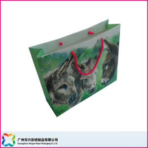 Paper Shopping Bag with Knots Strings pictures & photos