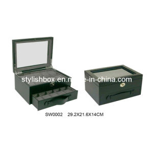 20PCS Large Capacity PU Watch Box (SW0002)