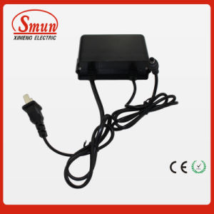 12V1a Waterproof Outdoor Black AC DC Adapter Power Supply with 2 Year Warranty pictures & photos
