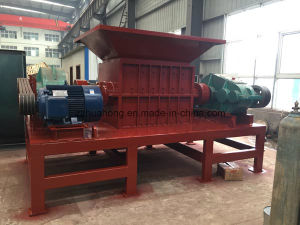 Double Shaft Shredder, Tyre Shredder for Rubber Recycling pictures & photos