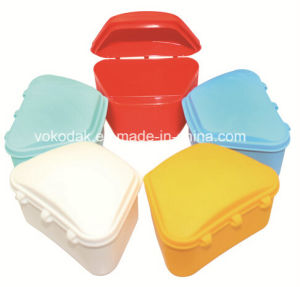 Best Price Plastics Colorful Denture Placed Box Dental Products pictures & photos