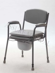 Steel, Height Adjustable, Commode Chair, (YJ-7400) pictures & photos