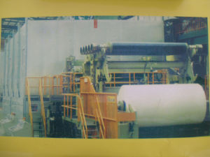 1760mm Toilet Paper Machine, Paper Recycing Industrial Machinery, Waste Paper Recycling Machine Plant pictures & photos