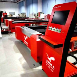 High Precise 1000 Fiber Laser Cutter for 12mm Mild Steel (O2) pictures & photos