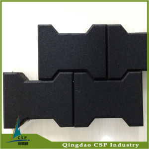 Supplier Cheap Rubber Paver Floor for Outdoor Playground pictures & photos