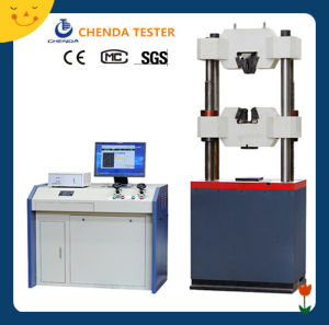 Waw-1000b Computer Control Servo Hydraulic Universal Testing Machine pictures & photos
