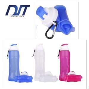 Portable Outdoor Travel FDA Approved Leak Proof Silicone Foldable Kettle pictures & photos