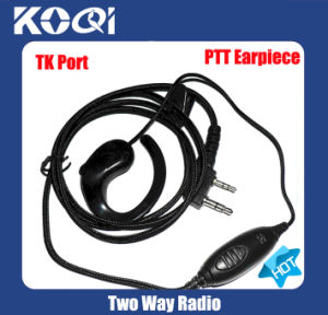 Earphone K05 to Two Way Handheld Talkie Walkie Radio pictures & photos