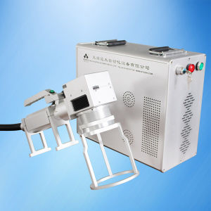 Handheld Fiber Laser Marking Engraving Machine pictures & photos