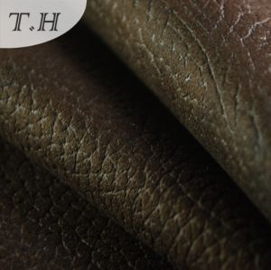 2015 Synthetic Suede Fabric Back Side with Complex pictures & photos
