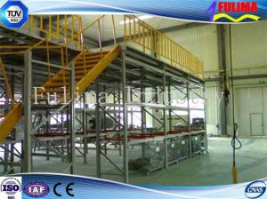 Galvanized Steel Platform with Handrails (FLM-SP-009) pictures & photos