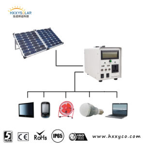 Factory Price Power Solar Panel Kits 220V with Phone Charge pictures & photos